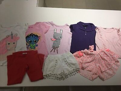 Adorable Bundle Of Little Girl Clothes Sizes 4-5 - Leading Brands