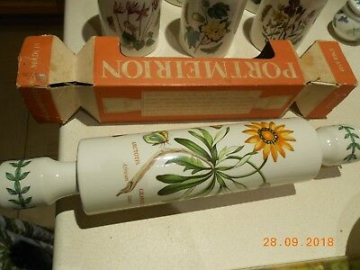 Portmeirion Botanic Garden Boxed Rolling Pin - Older And Discontinued