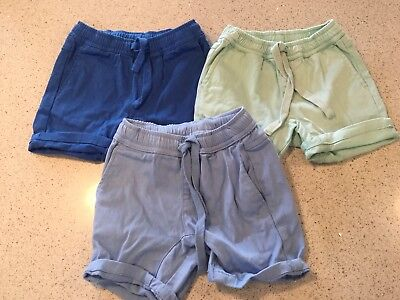 Trio of boys Seed shorts size 3