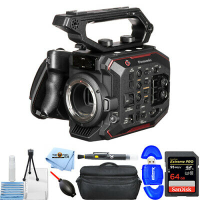 Panasonic AU-EVA1 Compact 5.7K Super 35mm Cinema Camera - XL Case 64GB SD & More