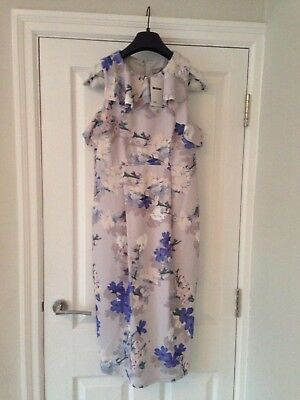 Ladies ASOS size 10 floral maternity ocassion dress