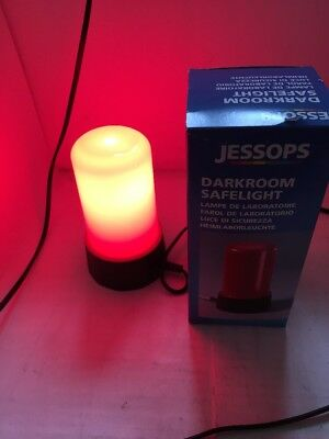 Jessop's Darkroom Safelight Red In Box