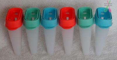 Tupperware TupperCare Lolli Ice Tups / Ice Block Maker- Red, Blue Green-  NEW