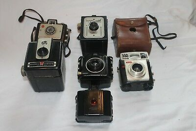Lot sale - Antique Cameras - Kodak Brownie and Herco Imperial