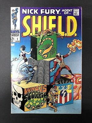 Nick Fury, Agent of SHIELD #1 (1968) 1st Full Appearance of Scorpio [FN-]