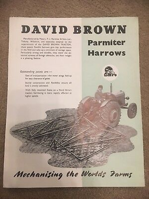 David Brown Parmiter Harrows Leaflet