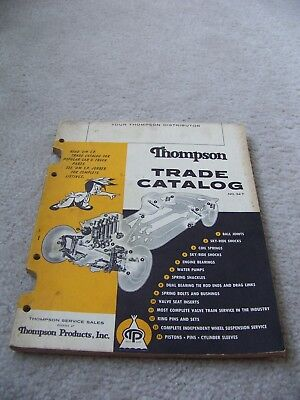Vintage Thompson Products Trade Catalog No 54T