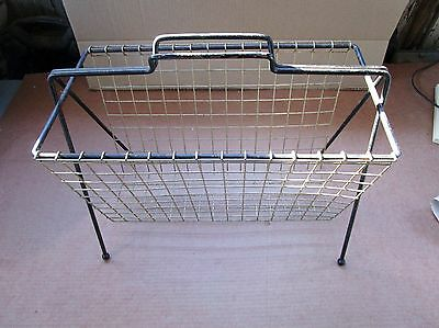 Magazine Rack Newspaper Holder All Metal