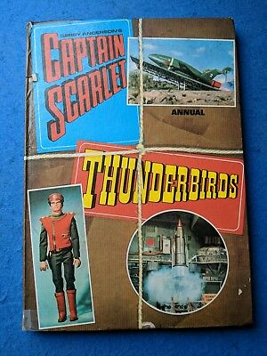 Captain Scarlet Thunderbirds Annual - Gerry Anderson