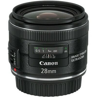 Canon EF 28mm f/2.8 IS USM Lens #5179B002 BRAND NEW