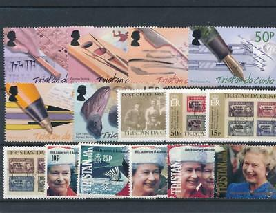 [120241] Tristan De Cunha good lot of stamps very fine MNH