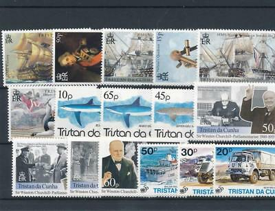 [120245] Tristan De Cunha good lot of stamps very fine MNH