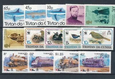 [120249] Tristan De Cunha good lot of stamps very fine MNH