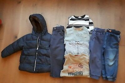 Boys Clothes Bundle 2-3 Years, Coat, Trousers & Tops