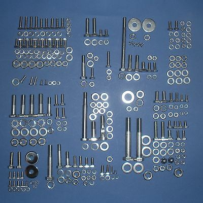 BMW R27 Complete Stainless Steel Bolt Set - 409pcs