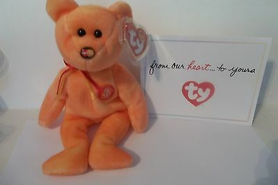 "Ty Beanie Baby~ ""m.c. Anniversary 3 Rd Edition"" ~Master Card Beanie~With Card~"