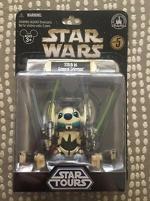 """Disney Star Wars """"Stitch as General Grievous"""" Figure, Series 5; FREE SHIPPING!"""