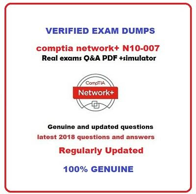 CompTIA Network+  N10-007 real exams pdf and simulator