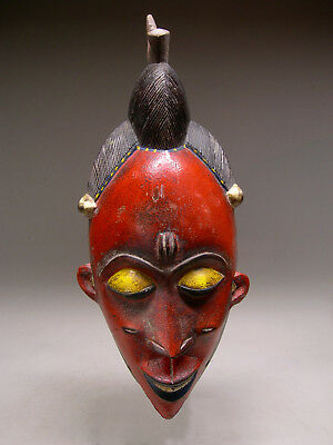 GURO TRIBE FEMALE MASK From Cote d'Ivoire ~ STUNNING!