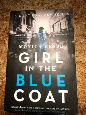 fb6868105762 GIRL IN THE Blue Coat by Monica Hesse (2017