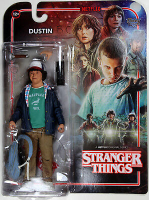 Stranger Things ~ DUSTIN ACTION FIGURE - McFarlane Toys / Netflix