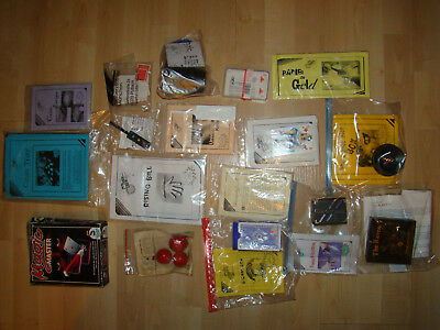 17 Zaubertricks, Zauberei, Konvolut, New Magic Line, Magischer Zirkel