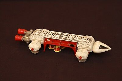 Vintage Dinky Space 1999 Eagle Freighter w/ Waste Ship Die-Cast Plastic Toy 1974