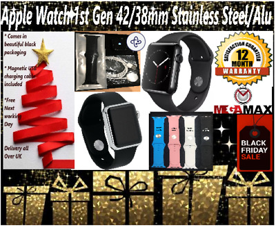 Apple Watch 42mm/38mm Aluminium/Stainless Steel Various Color Pre Black Friday