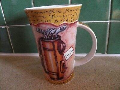 Golf A Design By Kate Mawdsley Dunoon Stoneware Made In Scotland Large Mug
