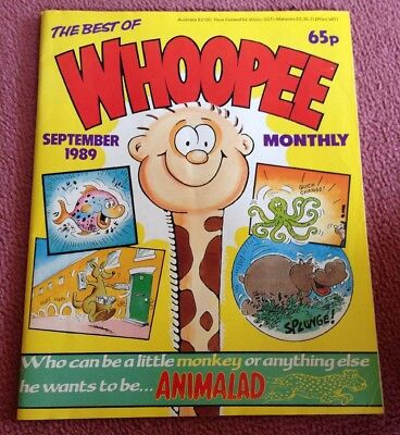 The Best Of Whoopee Monthly - September 1989