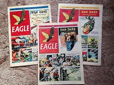 Eagle Vol 2  Complete volume  52 issues - April 1951-March 1952