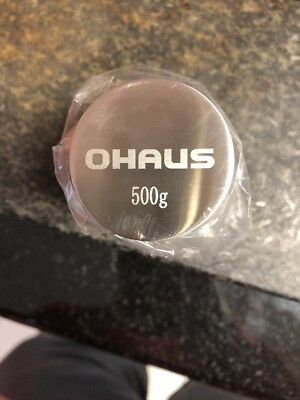 OHaus 500g Calibration Weight