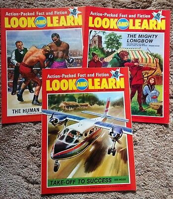 Look & Learn magazines - 18 1970s issues