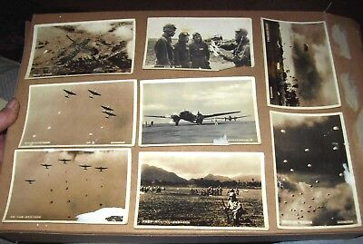 WWⅡ Japanese Military Photos B & W 8 Glossy Japanese lettering 3 1/2 X 5 1/2