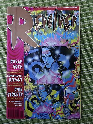 Revolver #2 Aug 1990 2000AD production FN+