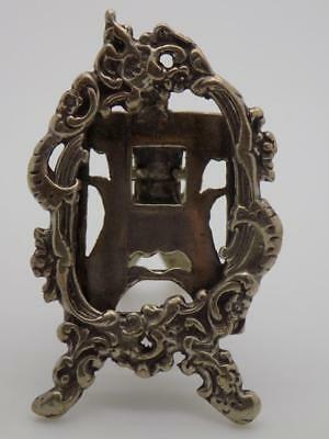 Vintage Solid Silver Italian Made Decorative Frame Miniature, Figurine, Stamped*