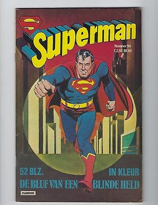 Superman #94 Dc Germany Bronze Age Comic Book Very Rare