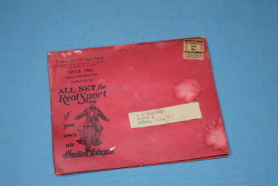 Very Rare! 1934 Indian Motorcycle Sales Company Missouri Catalog & Order Form