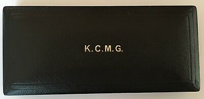 KCMG, presentation case, British Order insignia case