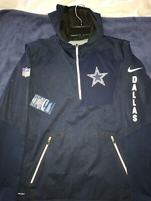 big sale 114a3 001b6 DALLAS COWBOYS NIKE Alpha Fly Storm Shield Jacket NWT Size L