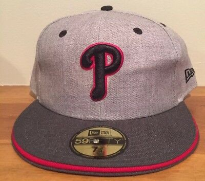 new arrival 1be17 cbb78 Philadelphia Phillies MLB New Era 59FIFTY Hat Cap MLB Sz 7 3 4 Fitted