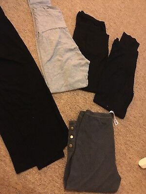 Maternity clothes Leggings And Skirt bundle size 10/12