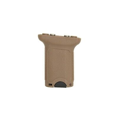 Airsoft KeyMod Vertical Foregrip in Tan. By FMA