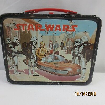 Vintage 1977 Star Wars Lunchbox No Thermos