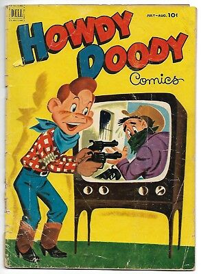 Howdy Doody Comics #17 (Dell, 1952) – Dilly Dally – GD/VG