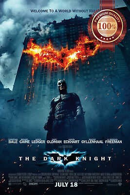 New Batman The Dark Knight Original Official Movie Film Print Premium Poster