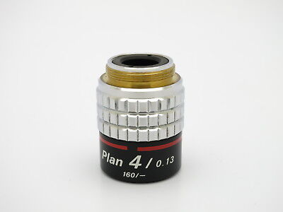 NIKON PLAN CFN 4X / 0.13 160/- Objective USA seller Free shipping