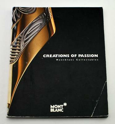 Rare Montblanc Catalog Booklet For Limited Edition Pens Patrons Writers Others