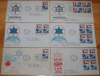 Weeda Canada 453 Cacheted FDCs, lot of First Day Covers