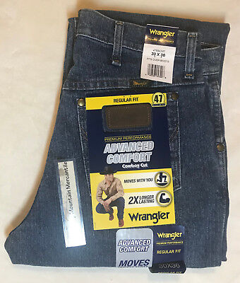 WRANGLER 47MACMT Premium Performance Advanced Comfort Cowboy Cut®  Stretch Jeans